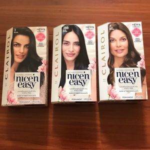 Other - Clairol Nicen Easy Permanent Hair Color Hair Dye